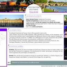 """Dossier Spécial """"Destination Occitanie"""" - Act I Toulouse"""