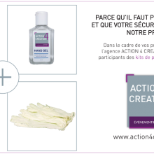 kit de protection ACTION 4 CREATION