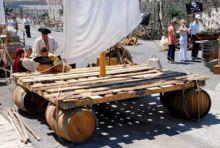 Construction de radeaux